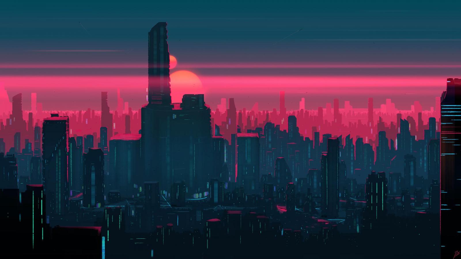 Free download Neon City 2560x1440 wallpaper [2560x1440 ...