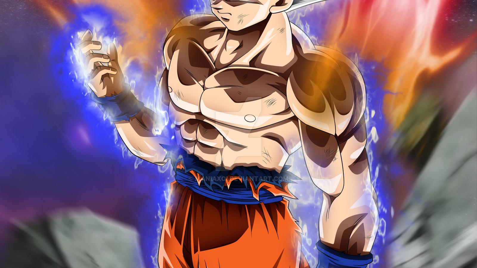 Free Download Goku Mastered Ultra Instinct By Maniaxoi
