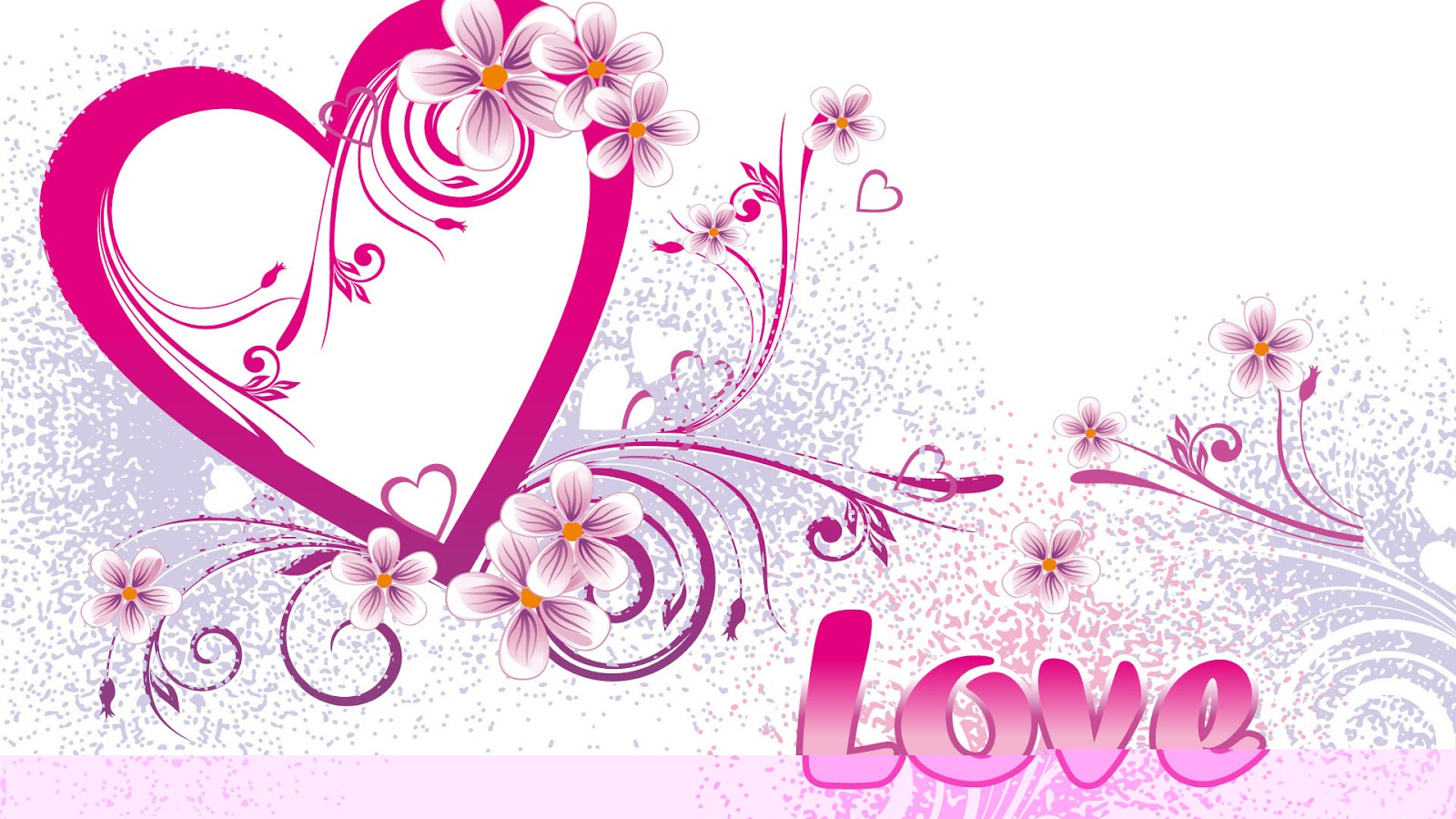 Free Download Wallpaper Backgrounds Cute Heart And Love Wallpapers