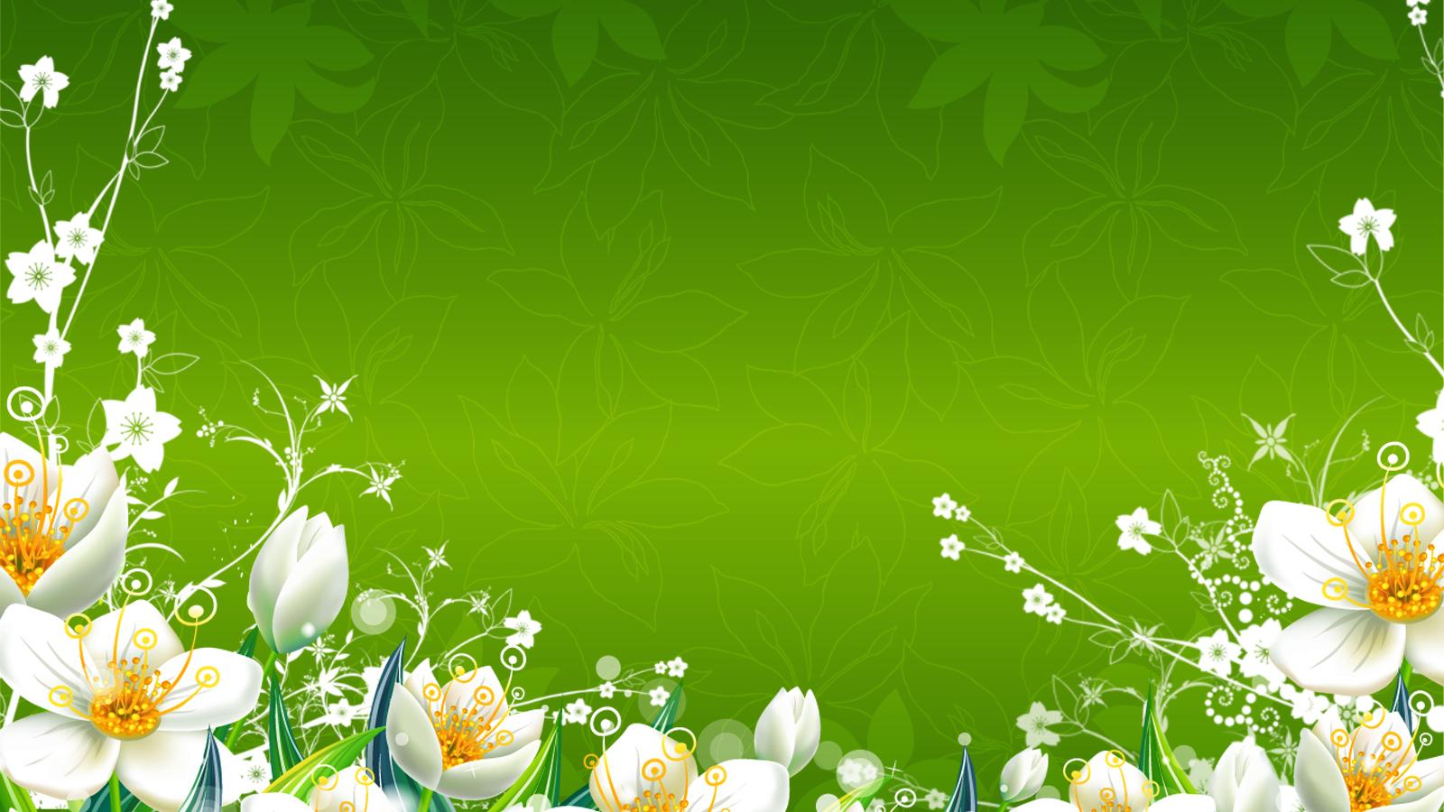 Free Download Green Flowers Wallpaper 1600x1250 Green Flowers