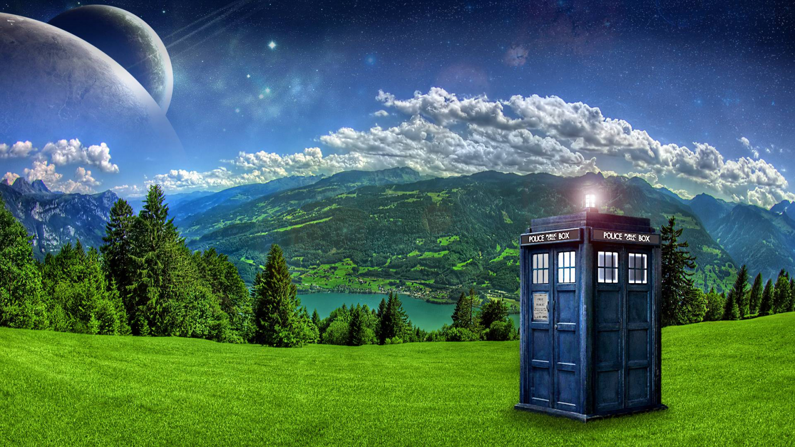 1920x1080px tardis desktop wallpaper - wallpapersafari