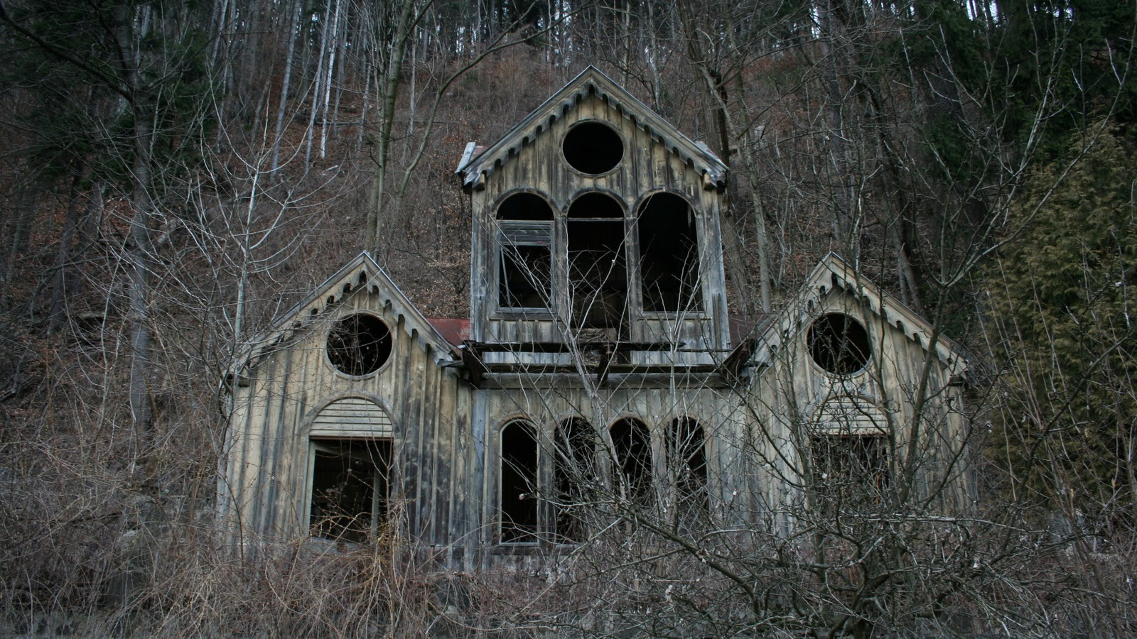 Free Download Scary House In The Woods Images Pictures Becuo