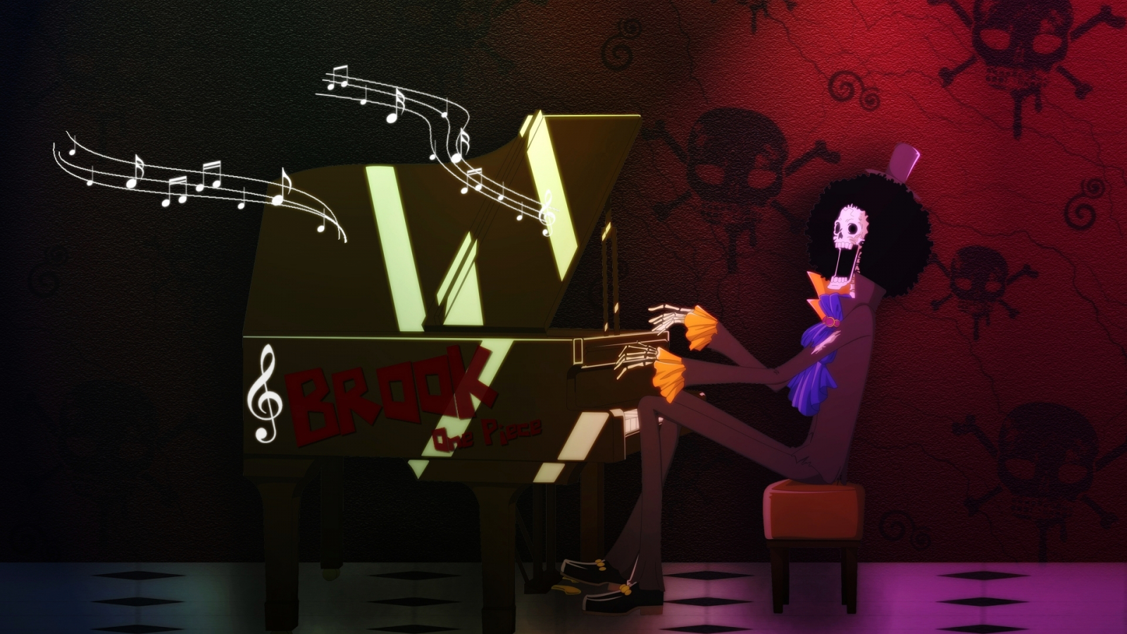 Free Download Brook Playing Piano Wallpaper One Piece Anime Wallpaper 1920x1200 For Your Desktop Mobile Tablet Explore 47 Brook One Piece Wallpaper Brook One Piece Wallpaper One Piece Wallpaper