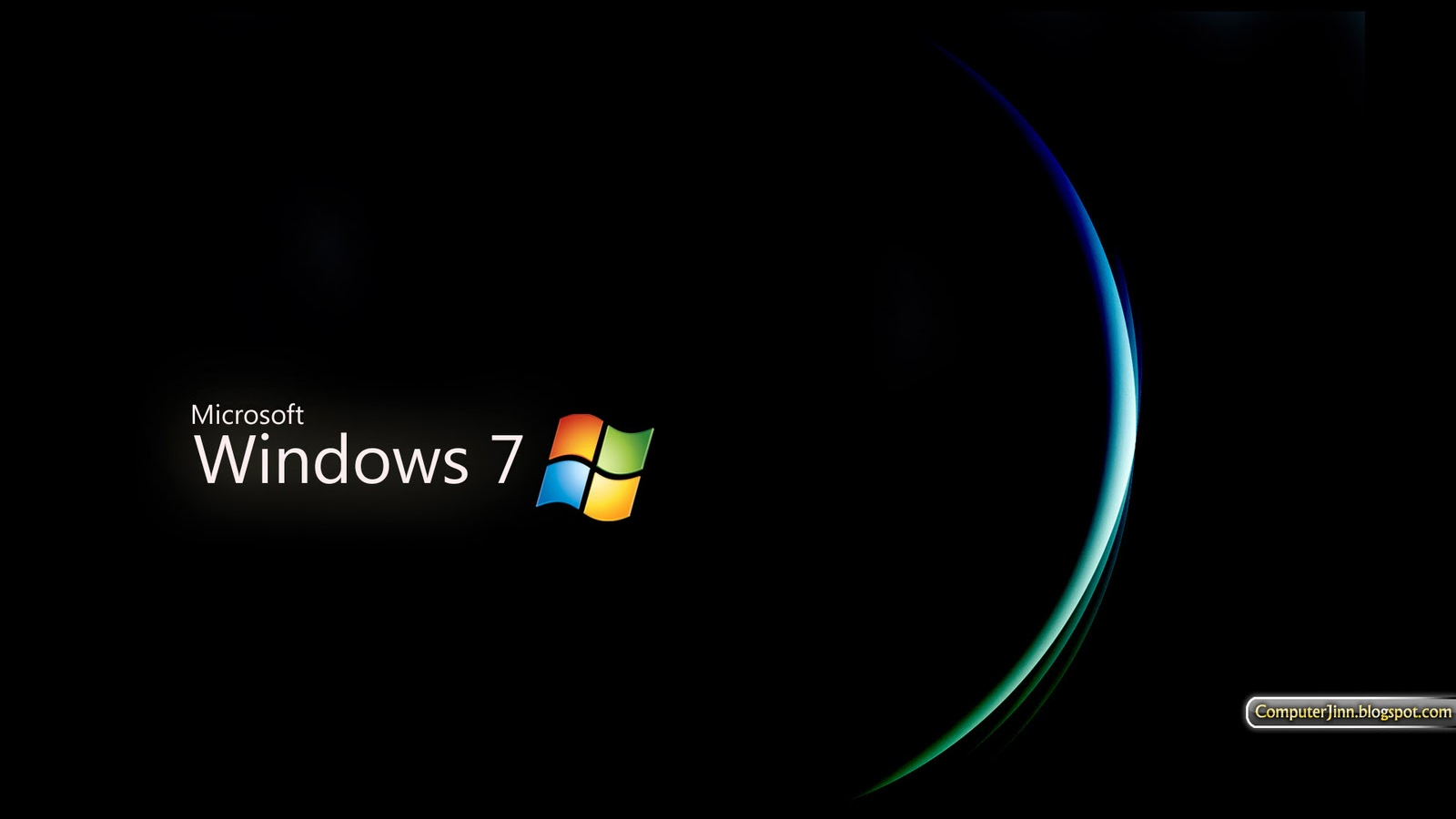 Free Download Windows 7 Black And Dark Hd Wallpapers Wallpapers