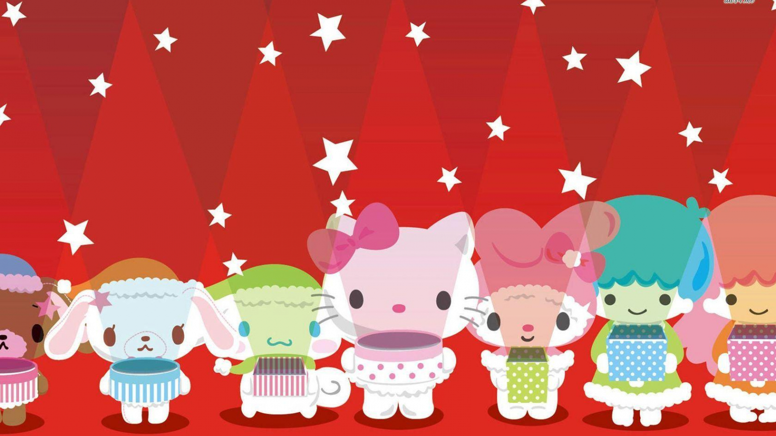 Free Download Hello Kitty And Friends Wallpapers 1680x1050 For