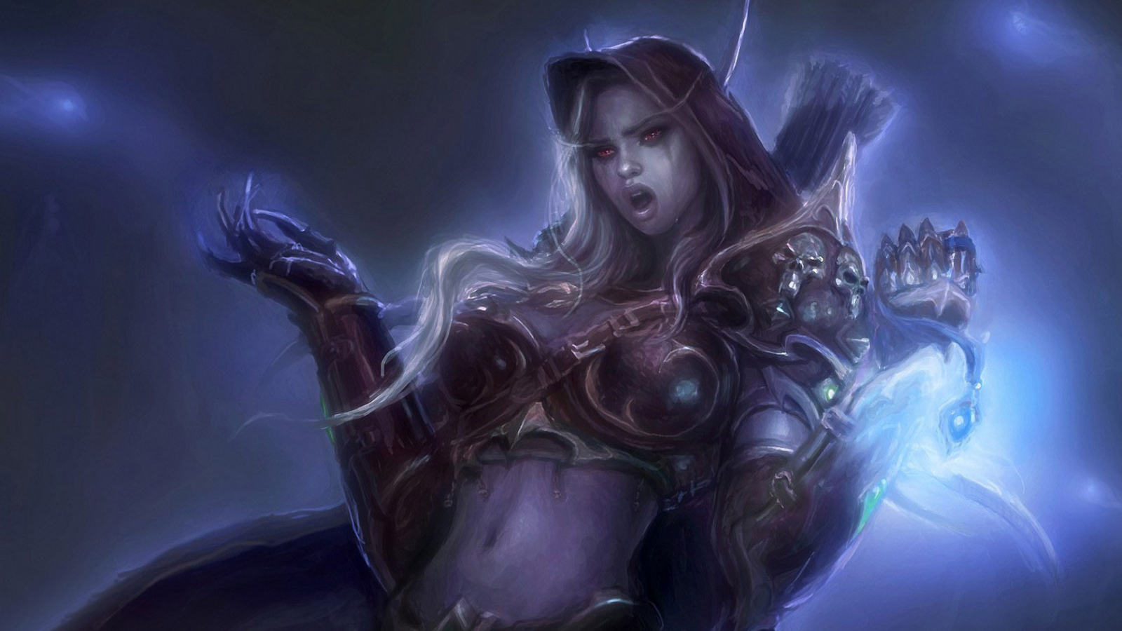 Free Download Sylvanas Windrunner World Of Warcraft Wallpaper