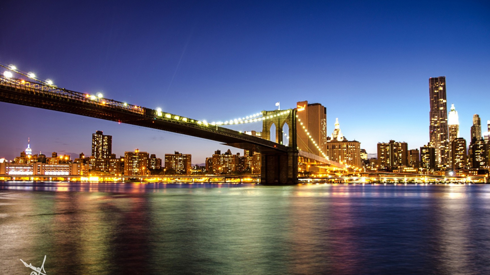 Free Download 2880x1800 Brooklyn Bridge In New York Macbook