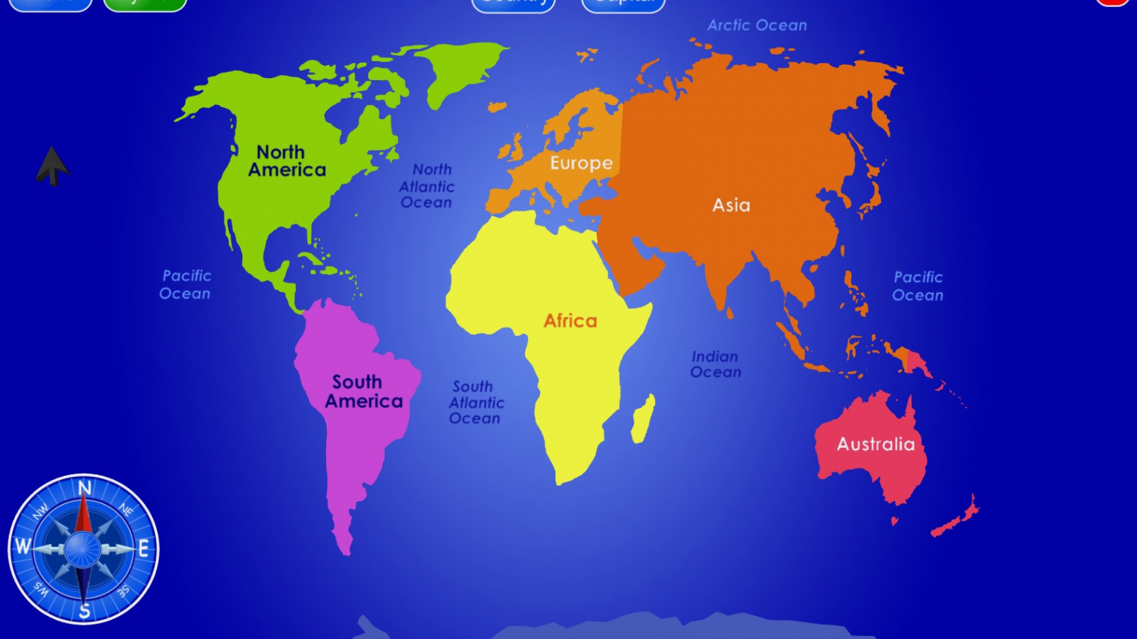 Free download World Map with Countries HD Wallpapers ...