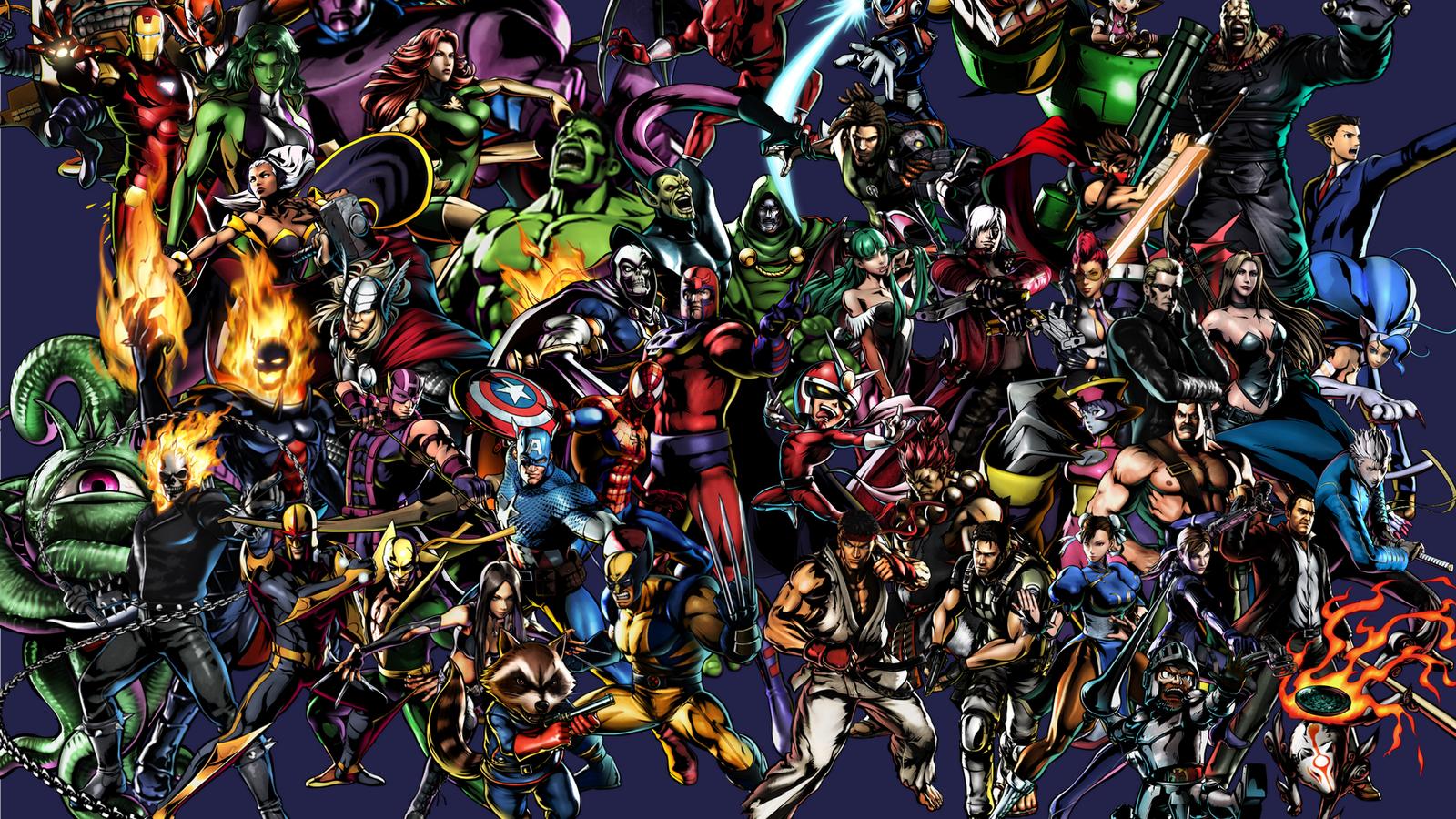 Free Download Marvel Vs Capcom 3 Wallpaper Hd Wallpapers