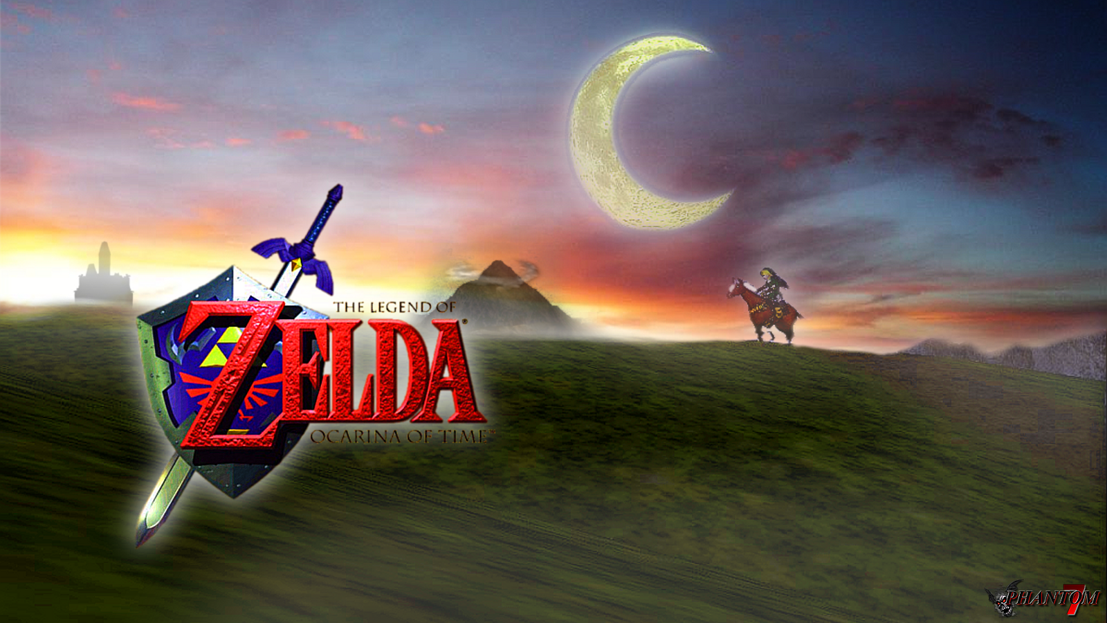 Free Download Ocarina Of Time Intro 16x9 By Phantom 7 1600x900