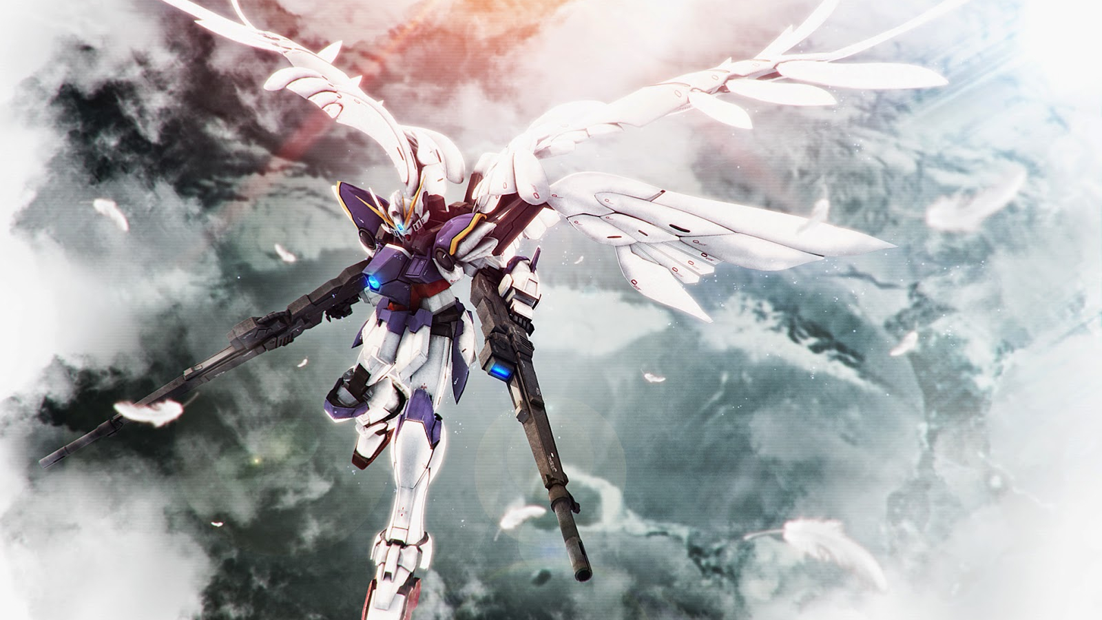 Free Download Wing Gundam Zero Custom Wallpaper By Hry Gundam Kits
