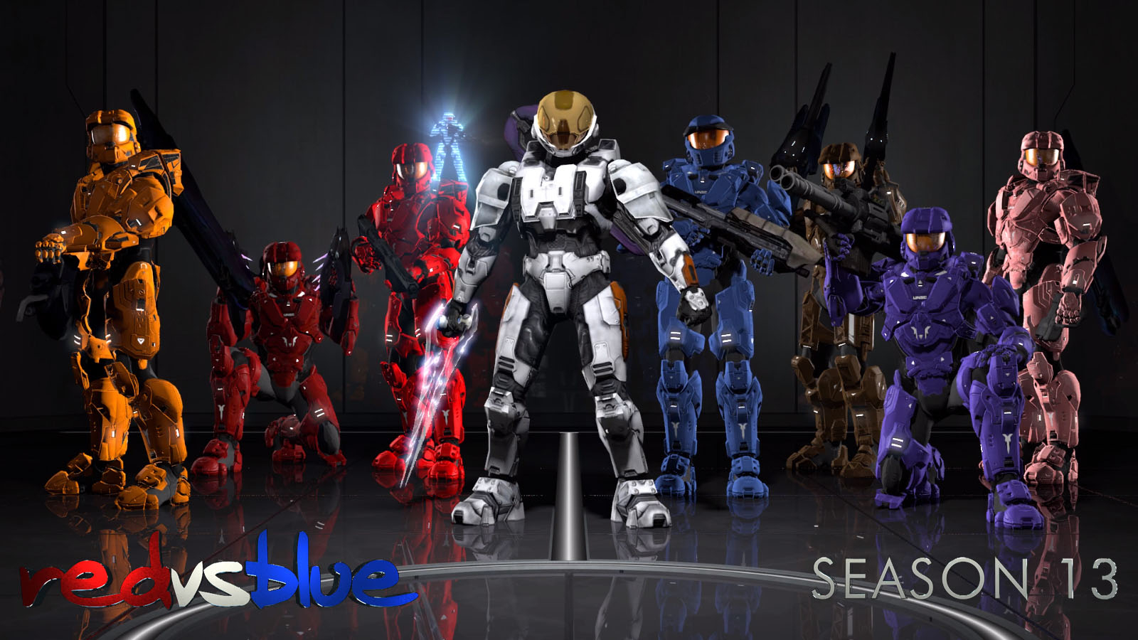Free Download Red Vs Blue Wallpaper Hd 1600x900 For Your Desktop