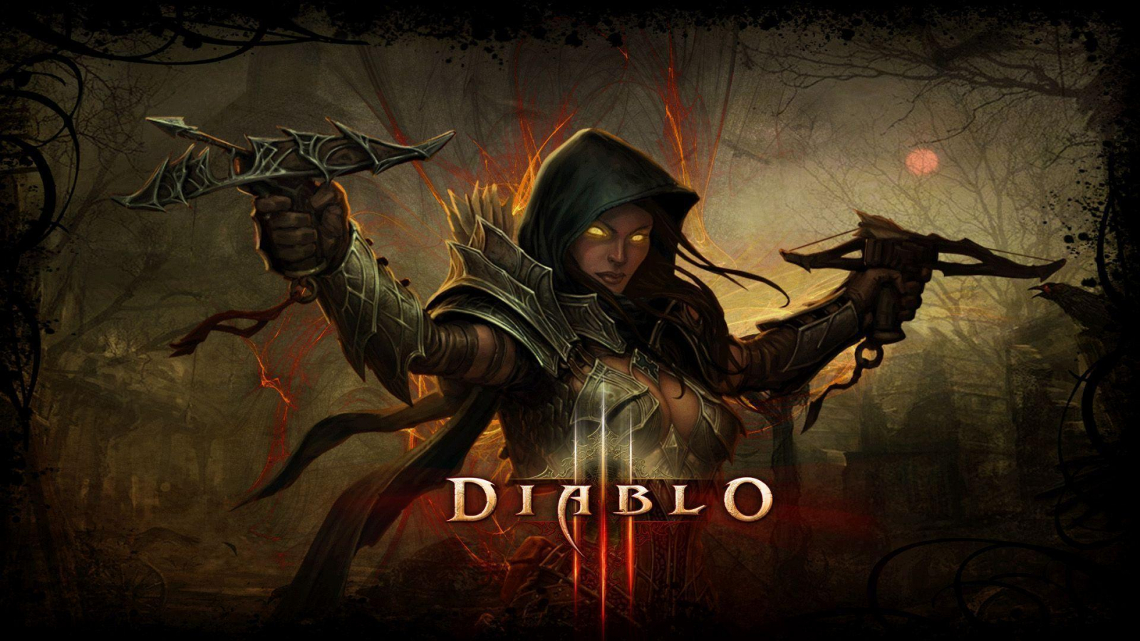 Free Download Pics Photos Diablo Iii Demon Hunter Artwork Hd