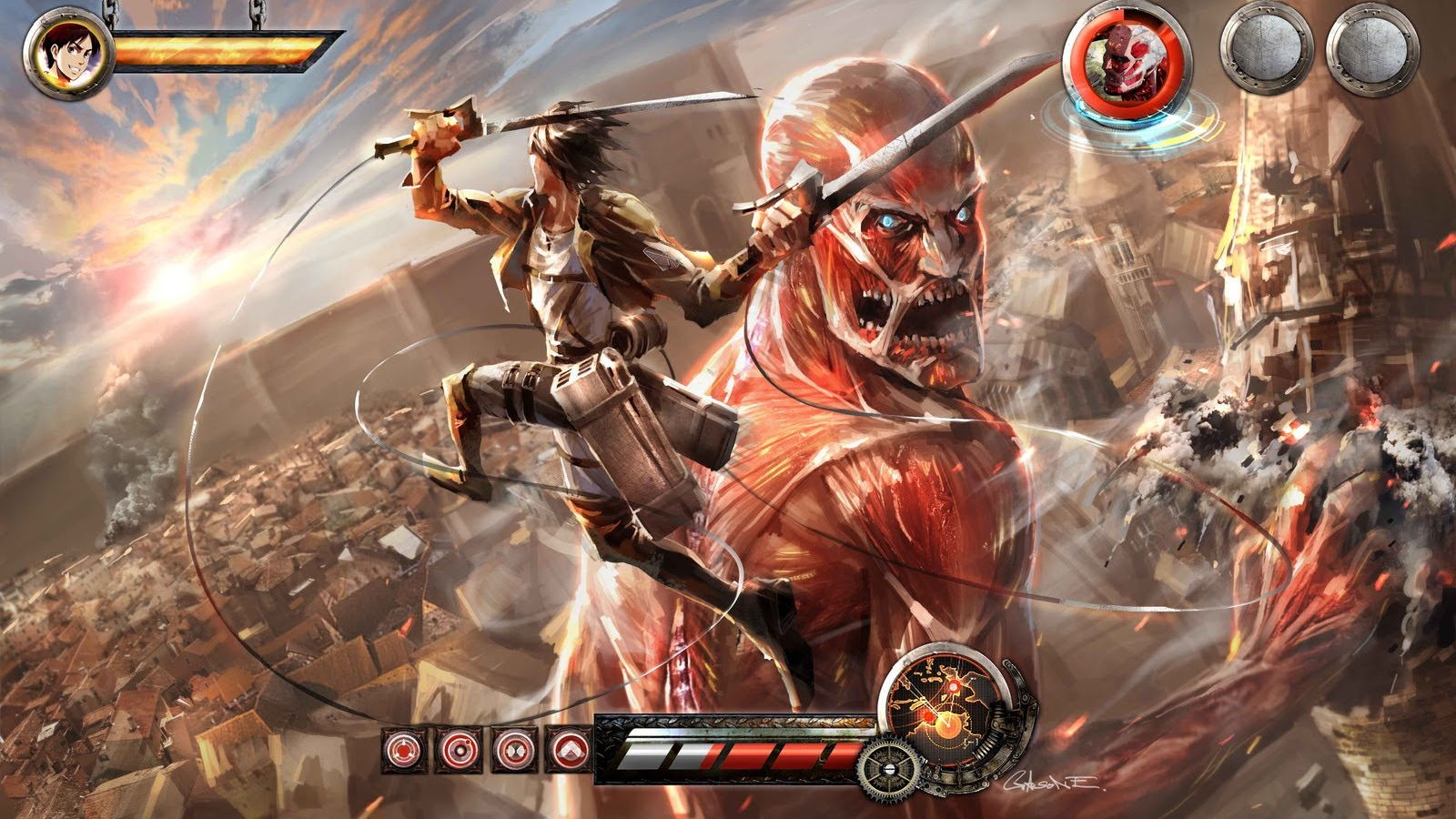 Free Download Attack On Titan Is Heading To The Ps3 Ps3 News