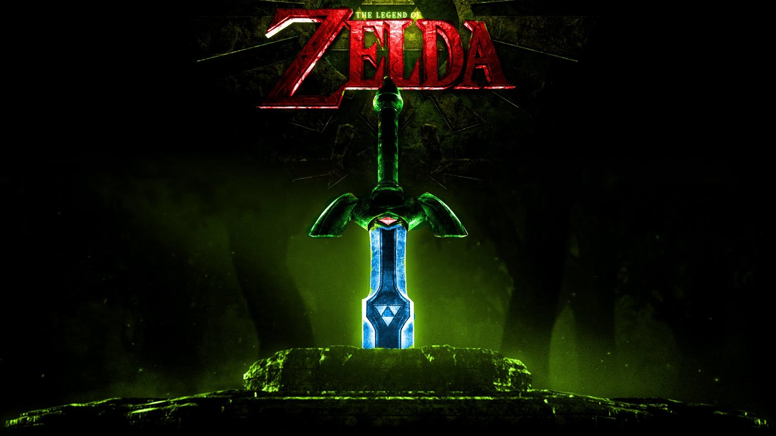 Free Download Triforce Sword In The Stone Hd Wallpapers Epic