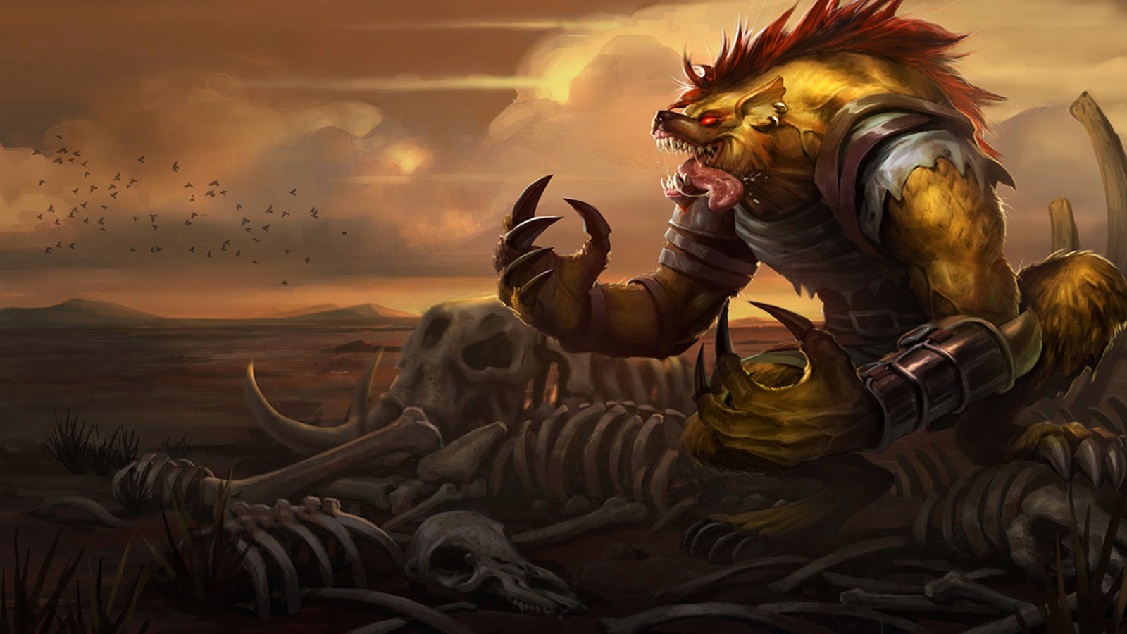 Free Download Hyena Warwick League Of Legends Hd Wallpaper Lol