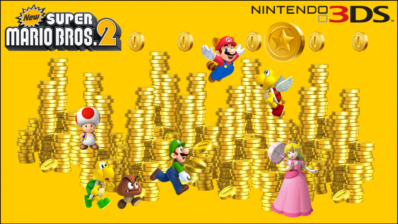 Free Download New Super Mario Bros 2 Wallpaper 2 1658x934 For