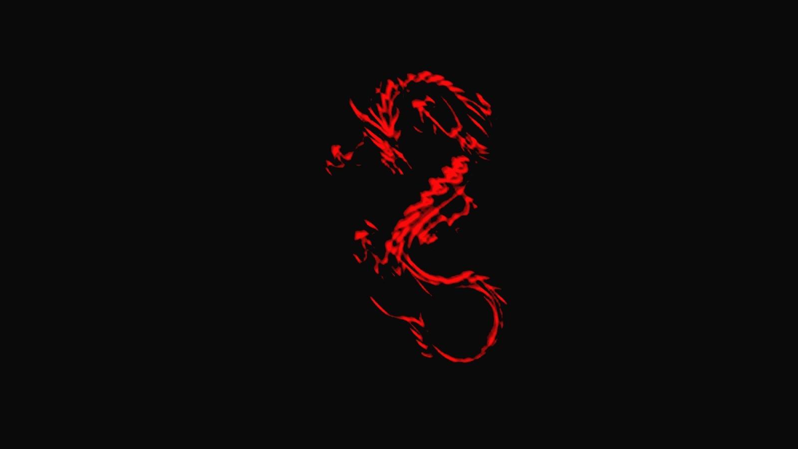 Free Download Cool Red Dragon Wallpaper Dark Red Wallpaper