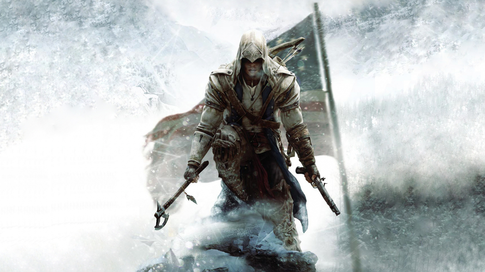 Free Download Assassins Creed 3 Wallpaper Konnor Hd Desktop