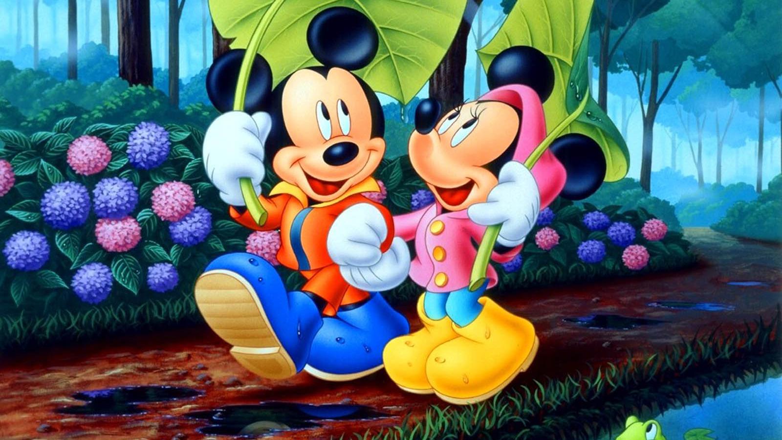 Free Gambar Wallpaper Mickey Mouse Lucu [