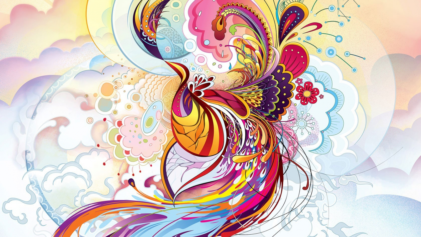 Free Download Download High Resolution Abstract Phoenix