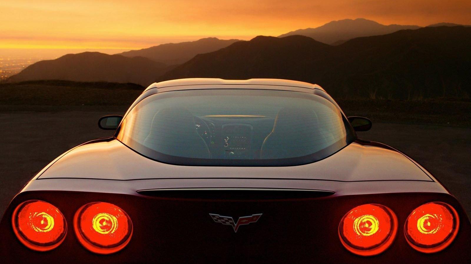 Free Download Por Do Sol No Corvette 4k Hd Wallpaper 1600x1200