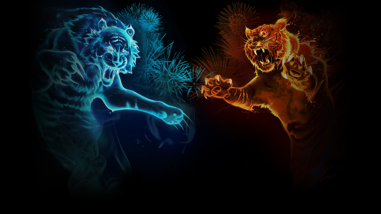 1600x998px cool tiger backgrounds - wallpapersafari