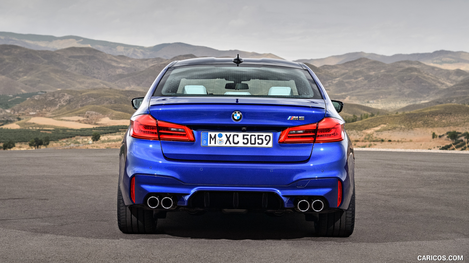Free Download 2018 Bmw M5 F90 Rear Hd Wallpaper 23