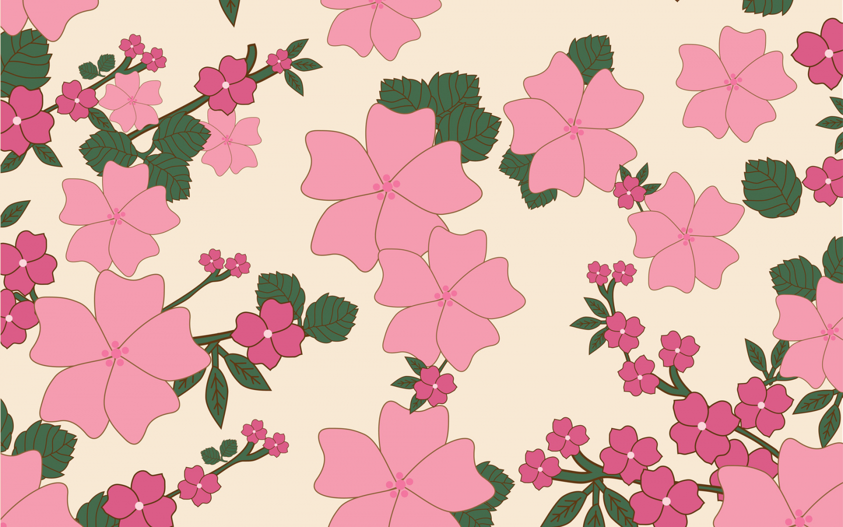Free Download Vintage Floral Wallpaper Background Stock Photo Hd