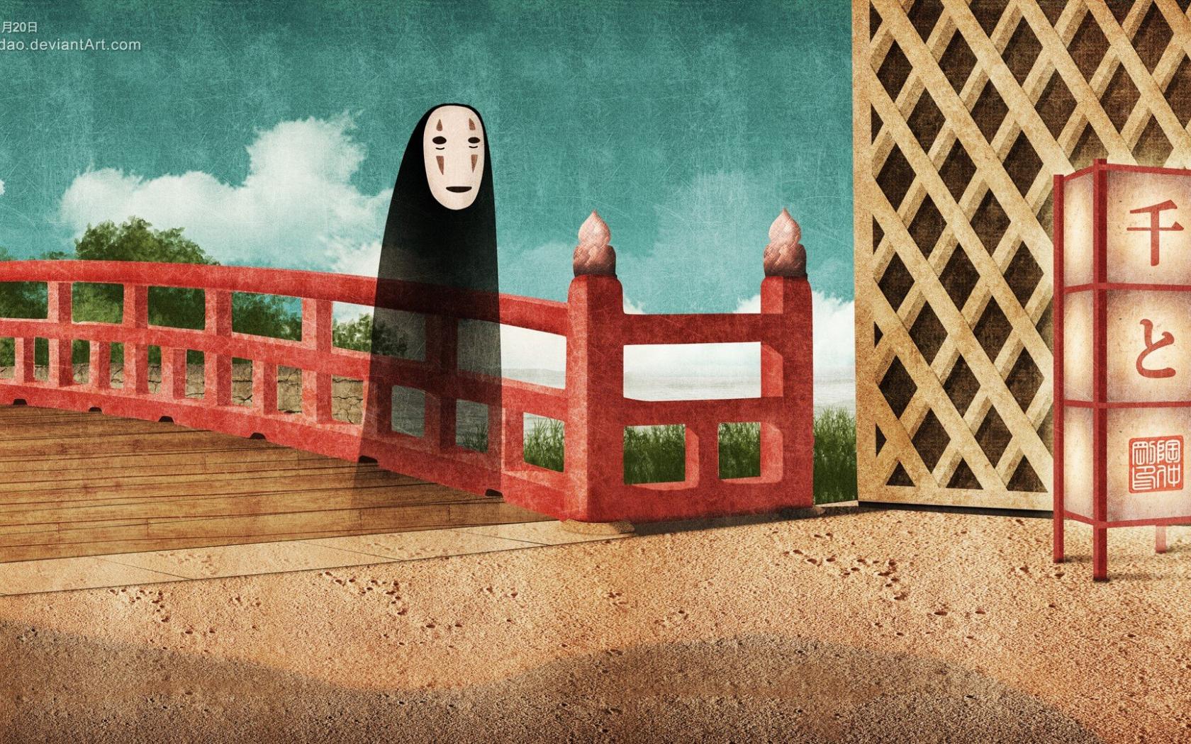 Free Download Spirited Away No Face Studio Ghibli Anime Chihiro