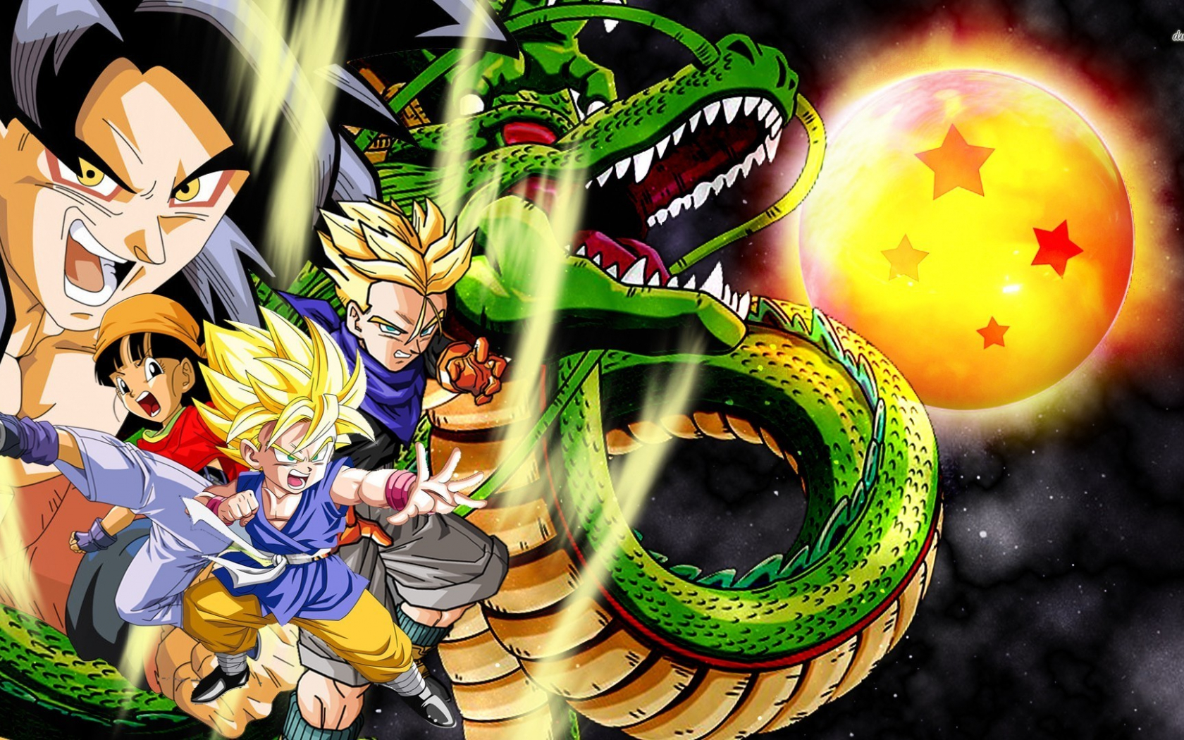 Free Download Dragon Ball Gt Wallpaper 1025838 1920x1080 For
