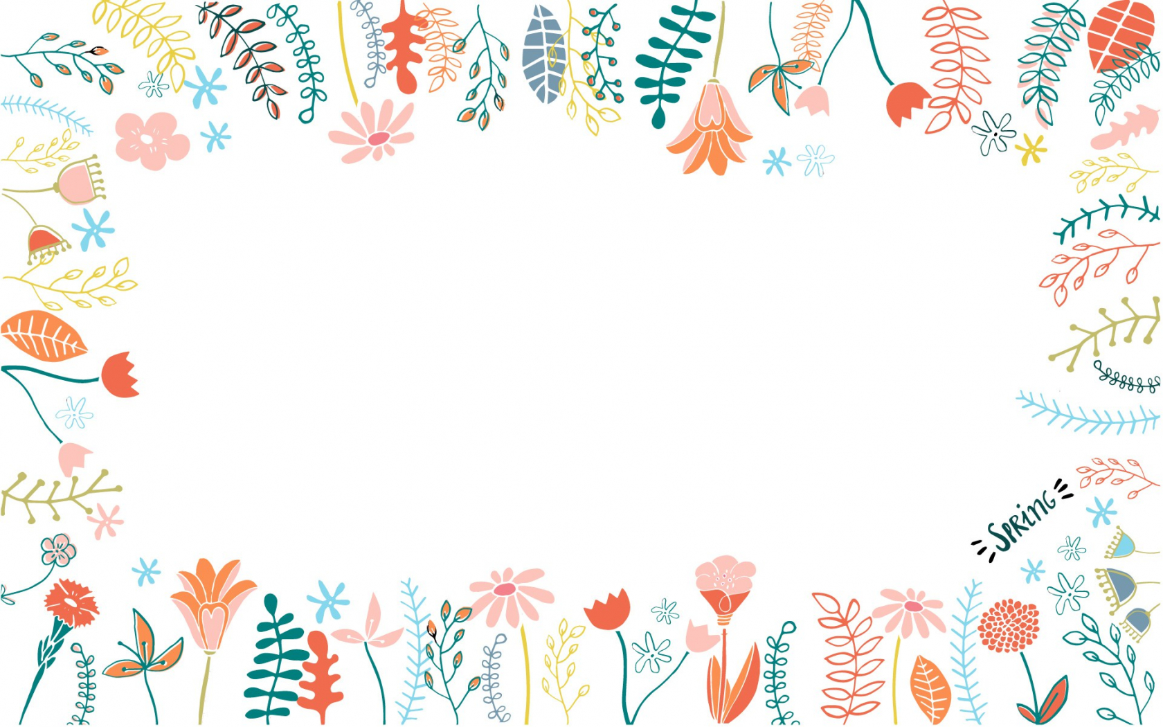 Free Download Desktop Wallpaper Watercolor Floral Desktop 150207