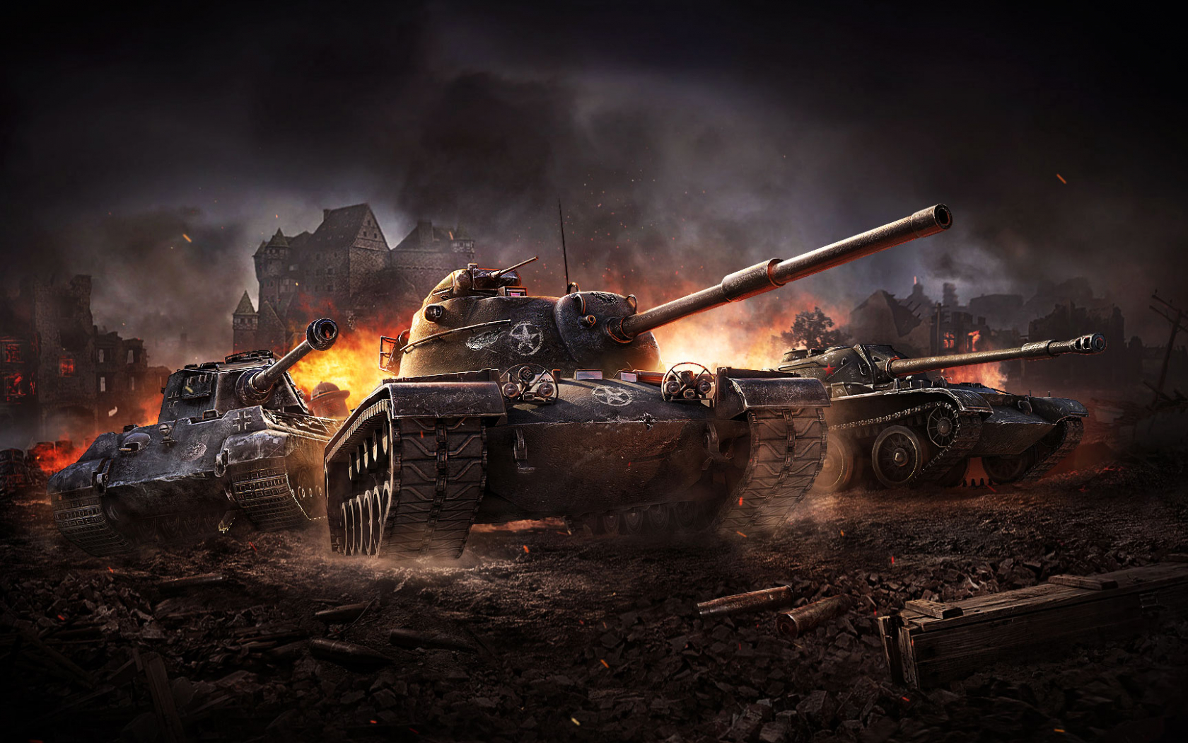 Free Download World Of Tanks Blitz Game Wallpaper Download For Pc