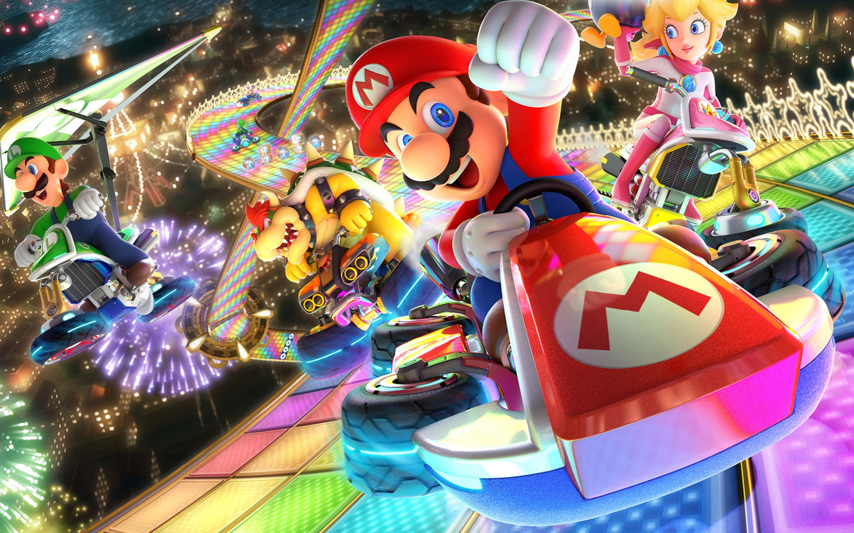 Free Download Mario Kart 8 Wallpaper Hd 110 Images In Collection