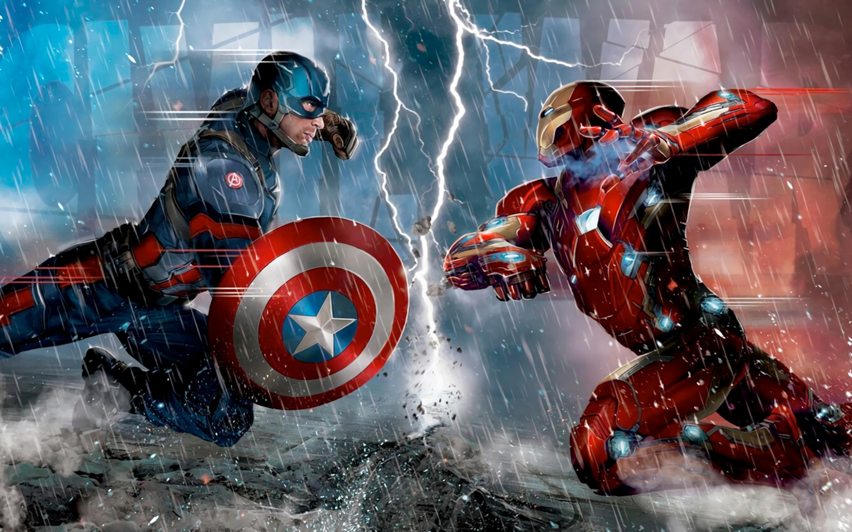 Free Download Captain America Vs Iron Man Wallpaper 7 Ways On How