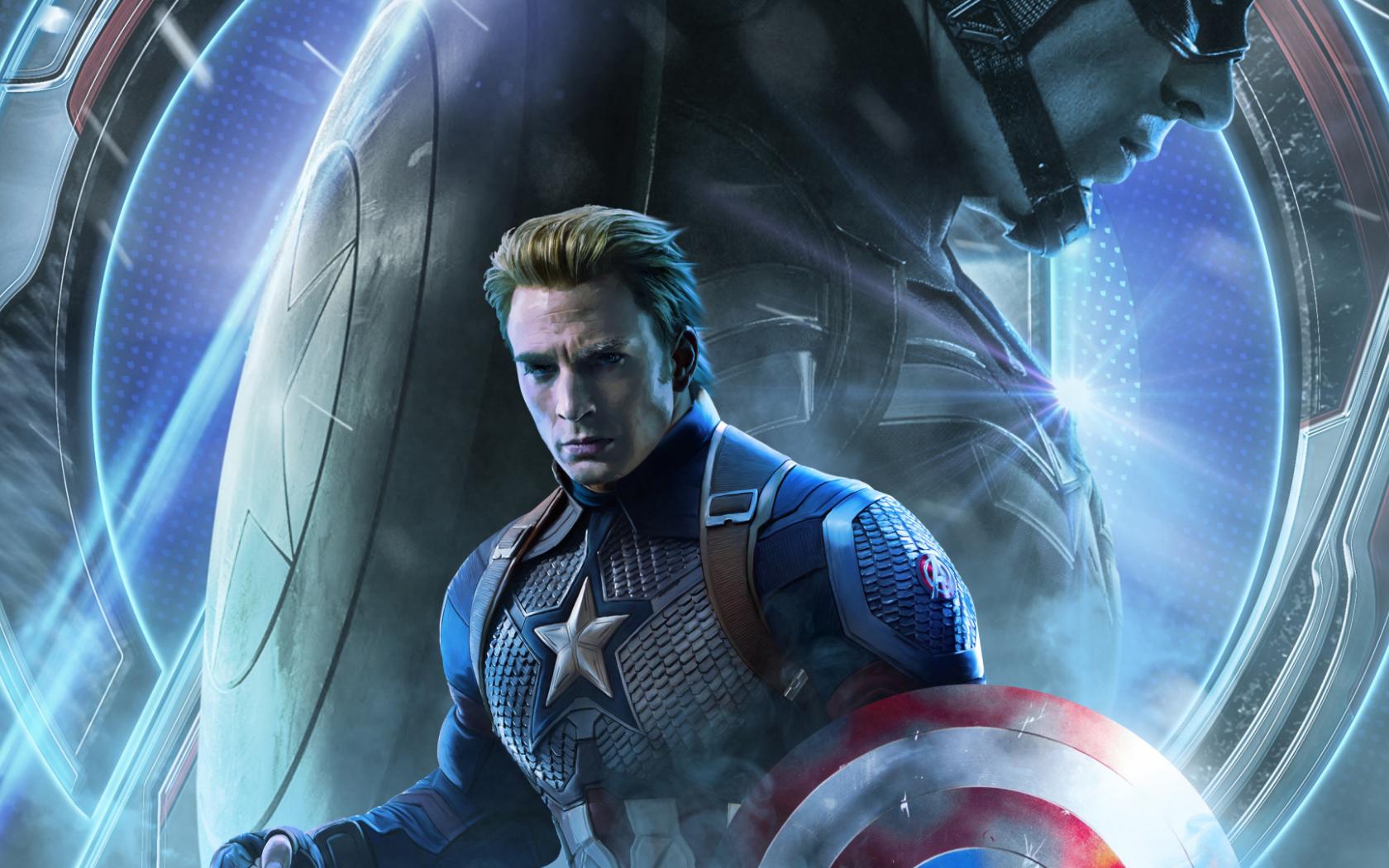 Free Download 1920x1080 Avengers Endgame Captain America