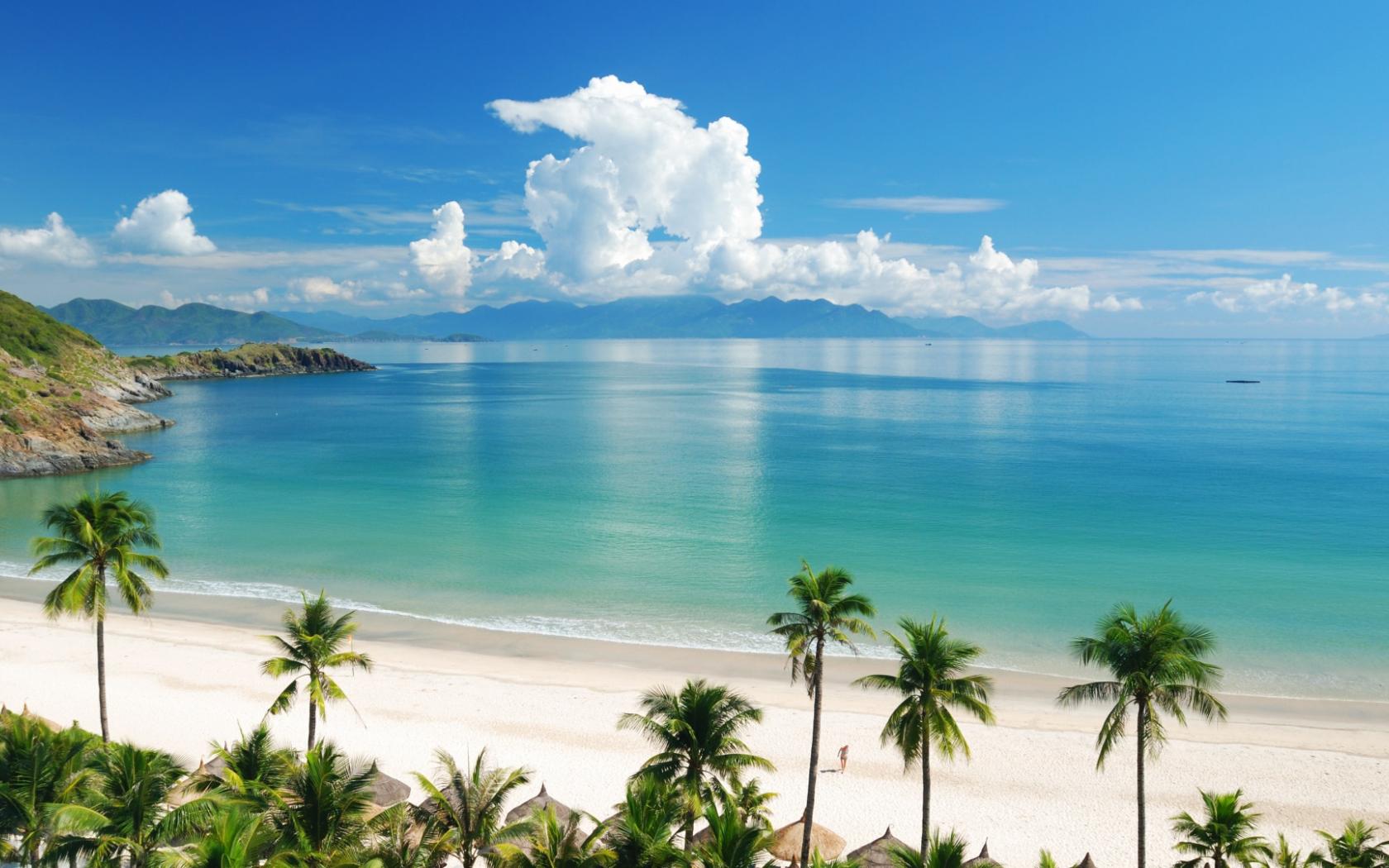 Desktop Background Hd Beach