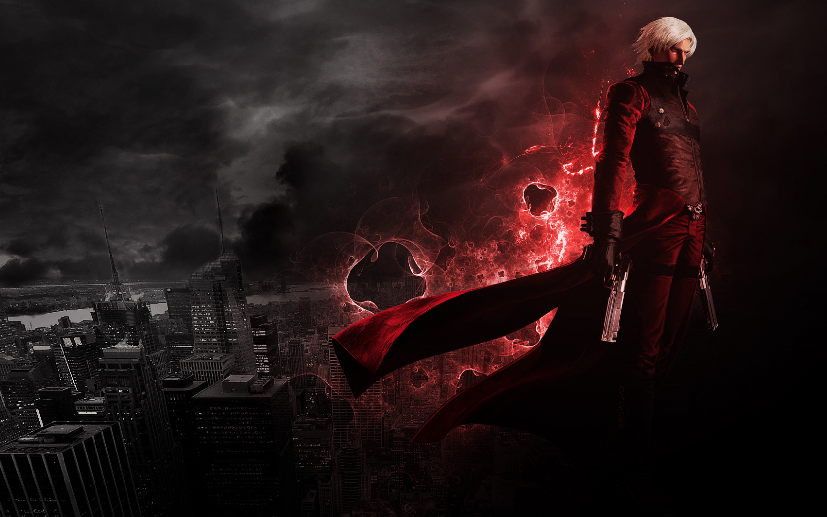 Free Download Devil May Cry 2 Dante Full Hd Desktop Wallpapers