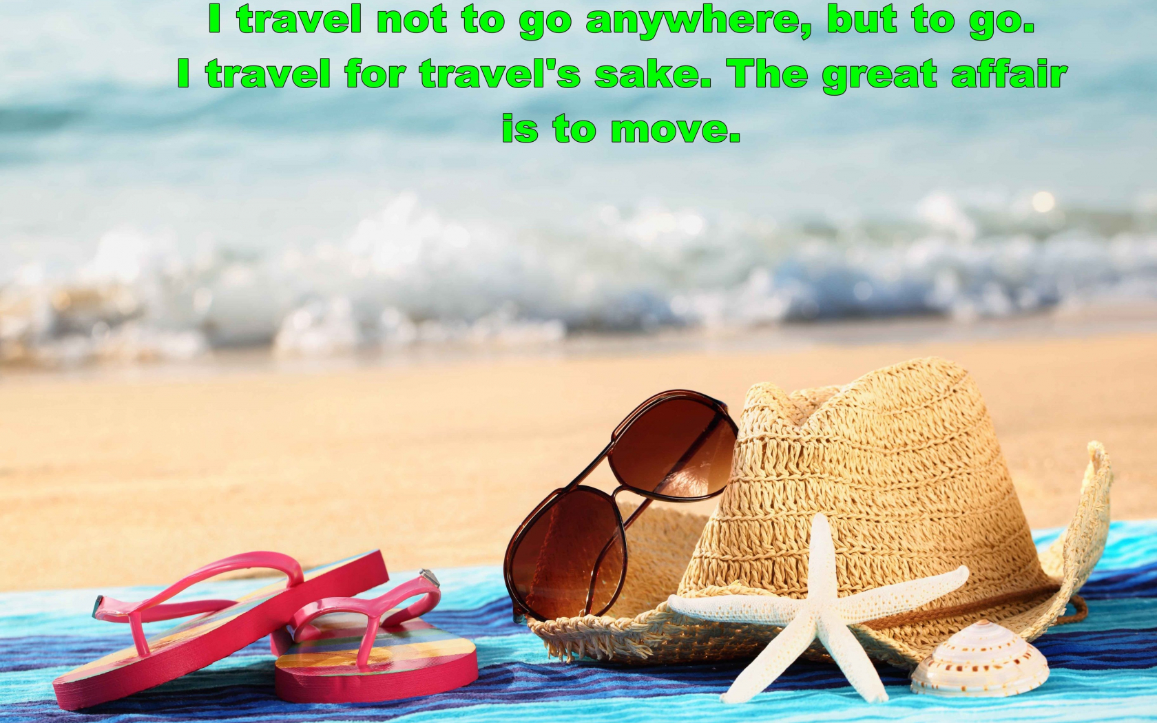 Free Download Travel Quote With Summer Hd Wallpaper 3650x2461 For Your Desktop Mobile Tablet Explore 22 Summer Quotes Wallpapers Summer Quotes Wallpapers Wallpaper Summer Summer Background