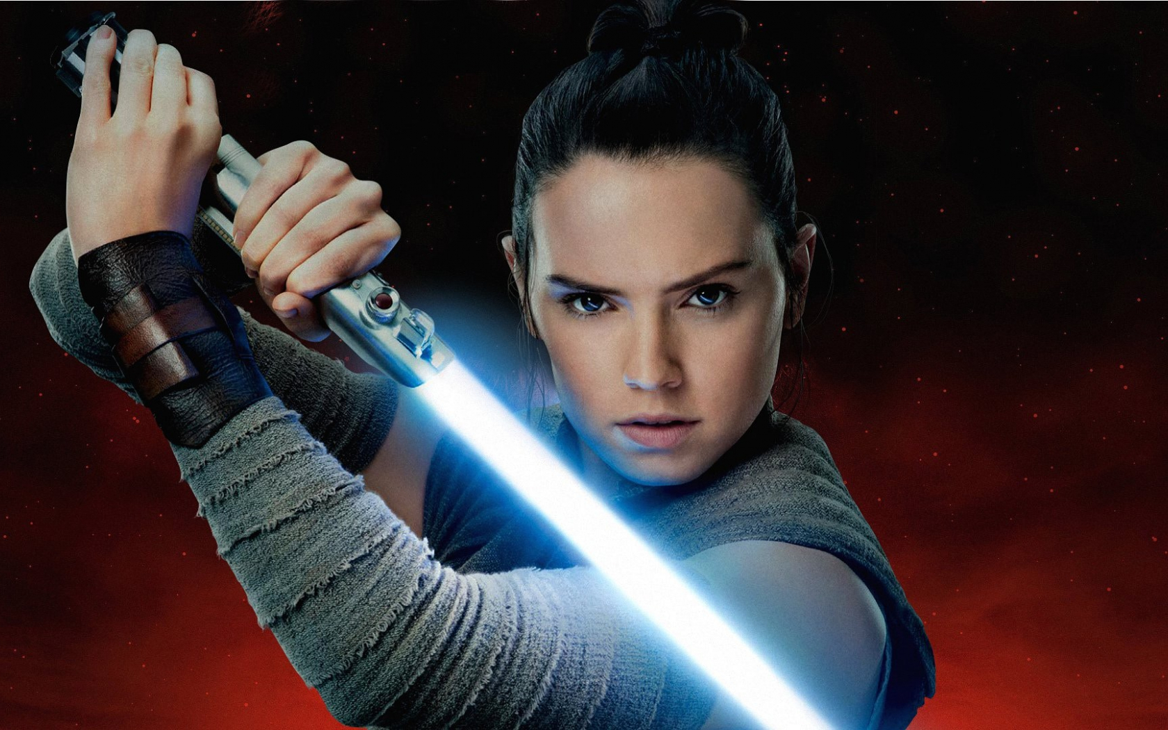 Free Download Rey Aka Daisy Ridley In Star Wars The Last Jedi Full