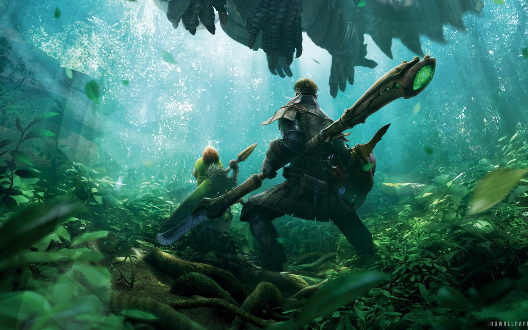Free Download Monster Hunter 4 Ultimate Game Hd Wallpaper Ihd