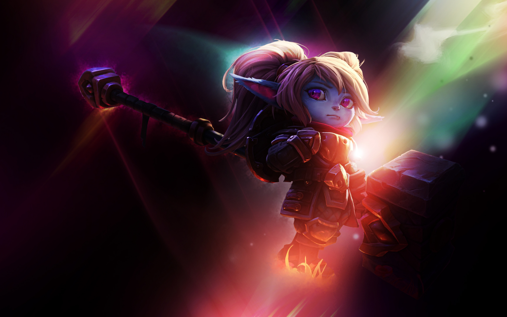 Free Download Poppy League Of Legends Wallpapers 1920x1080 For