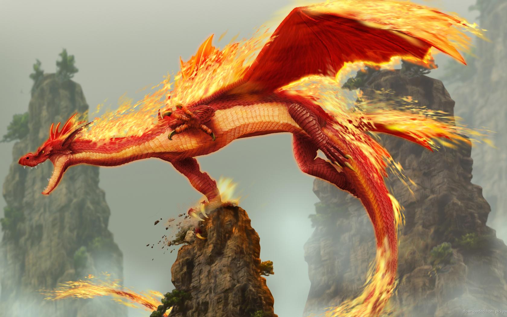 Dragon Wallpaper Fire Fantasy 1920x1080 Download Resolutions Desktop