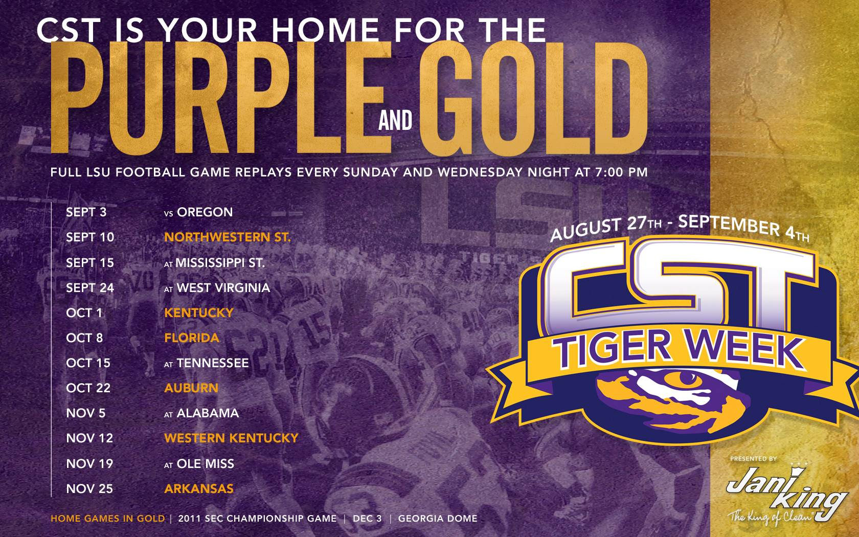 Free download Lsu Football Schedule