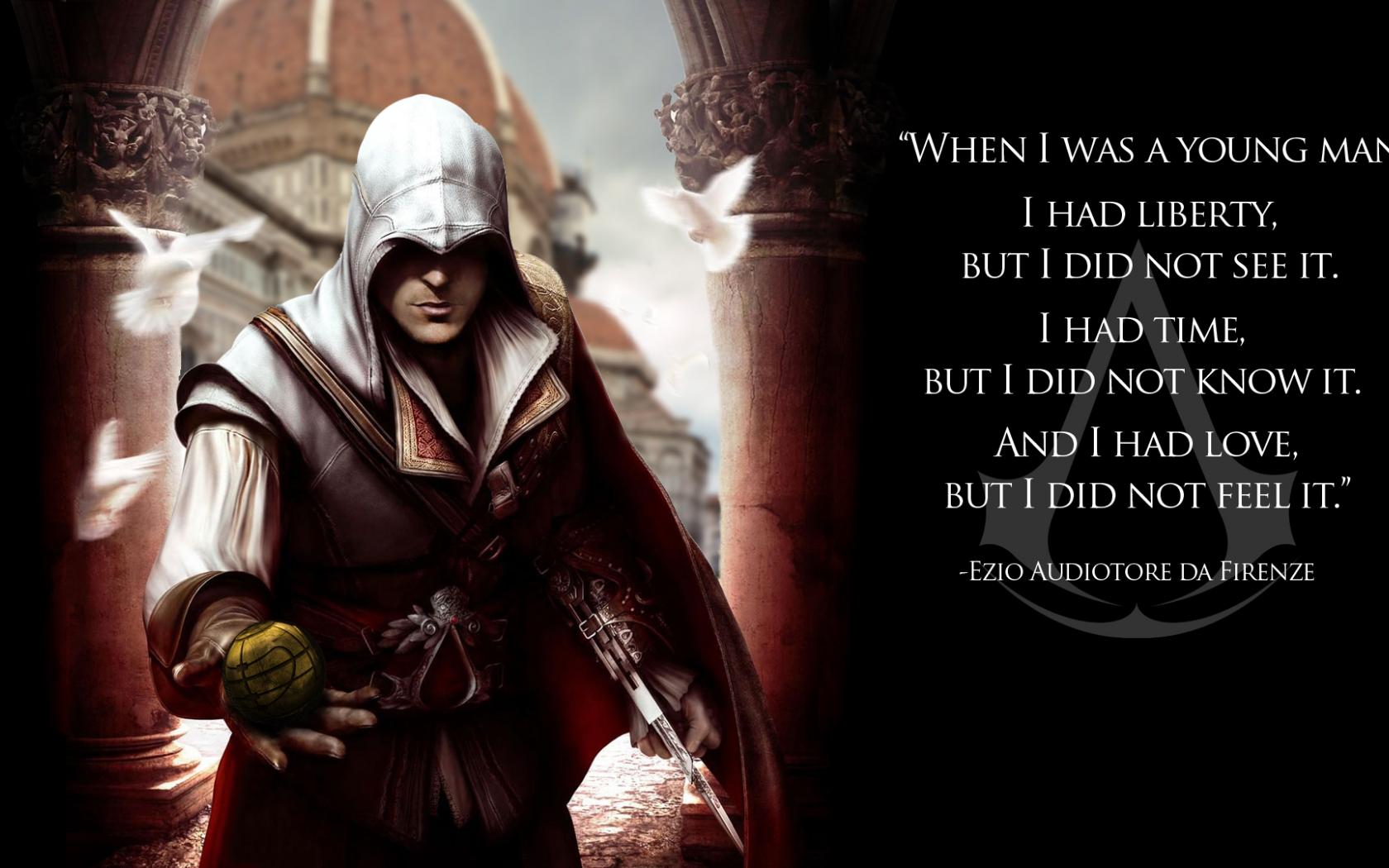 Free Download Ac Ezio Wallpaper Hd By Heenriko Fan Art