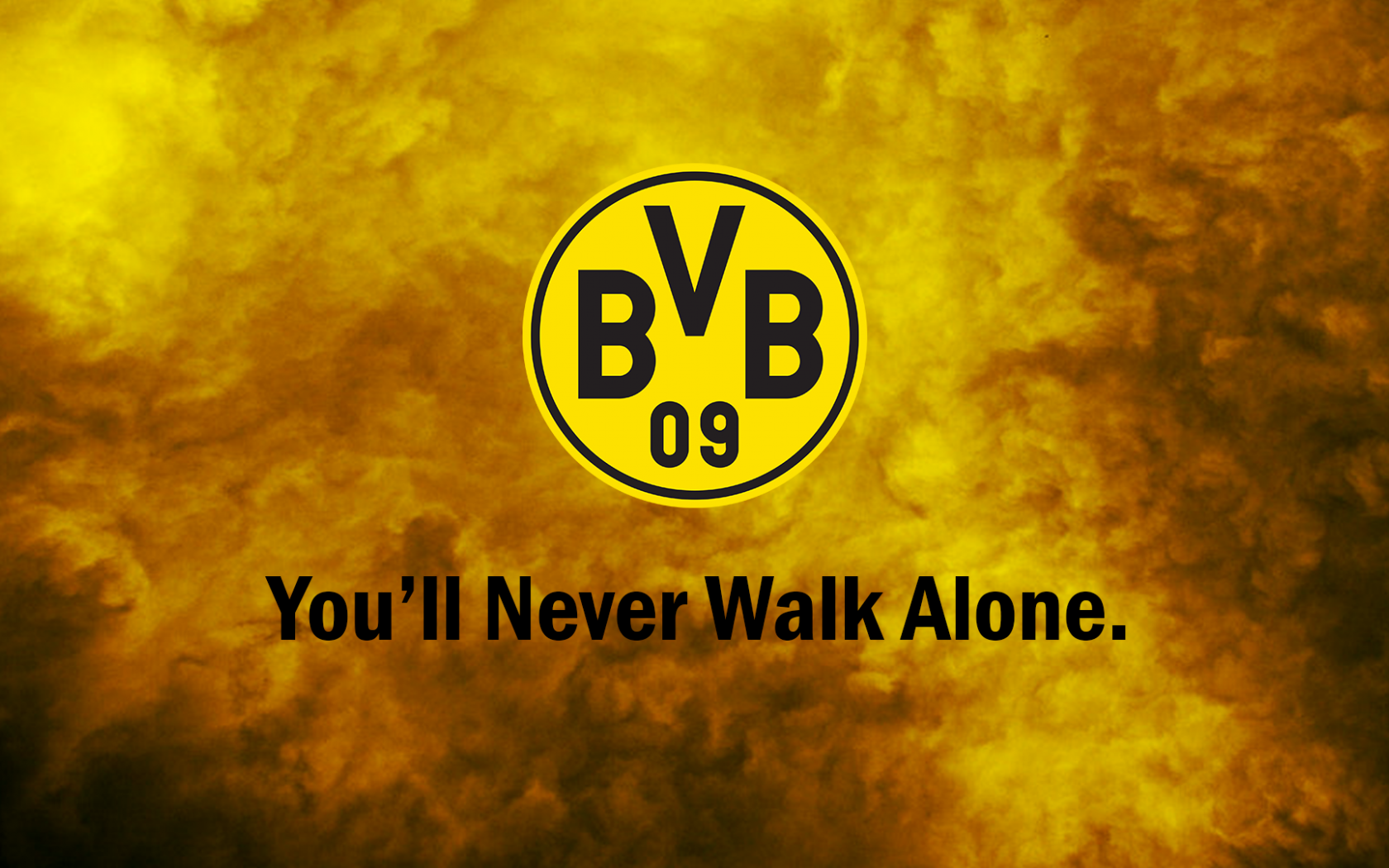 Free Download Borussia Dortmund Bvb Youll Never Walk Alone By