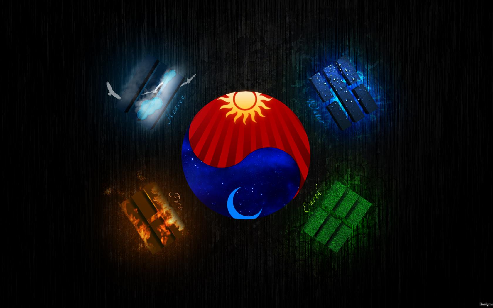 Free Download Korean Flag Wallpaper 1920x1080 For Your Desktop