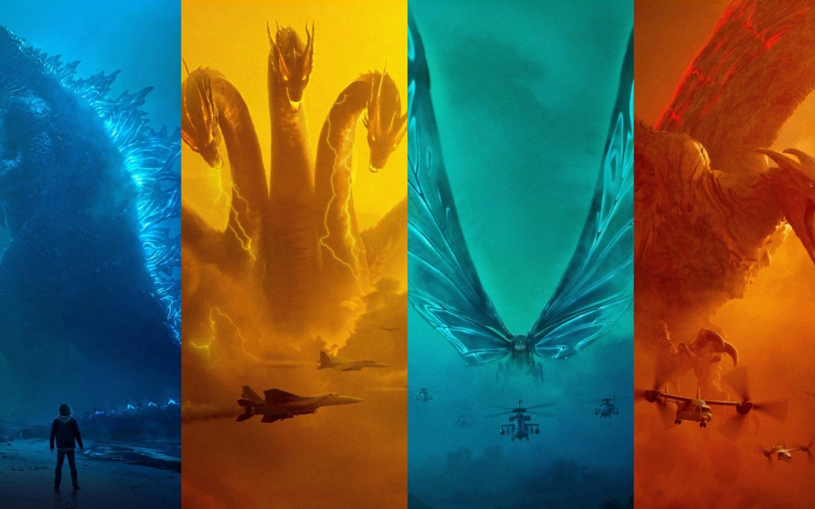 Free Download Godzilla King Of The Monsters Hd Wallpaper