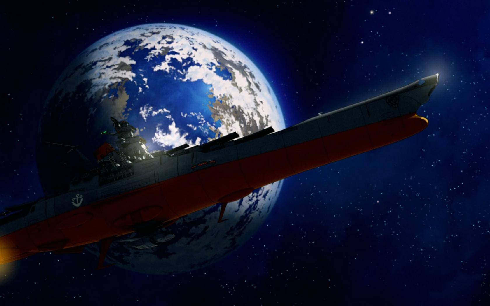 Free Download Space Battleship Yamato Wallpaper Space Battleship