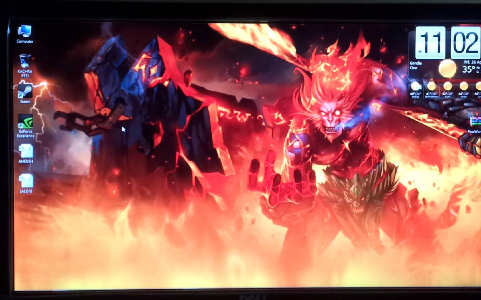 Free Download League Of Legends Desktop Live Wallpaper Wukong